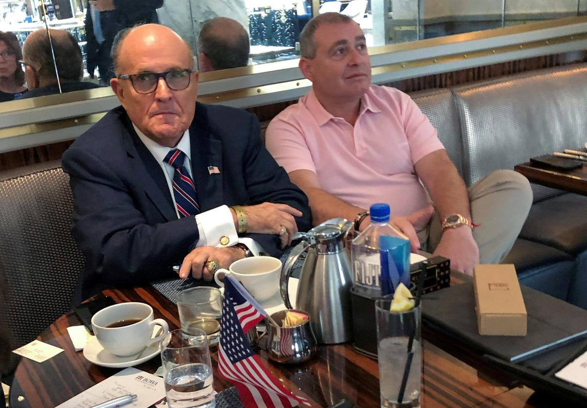 Exclusive: Giuliani associate Parnas will comply with Trump impeachment inquiry - lawyer - Reuters