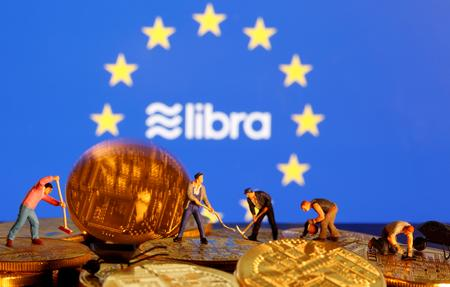 Alarmed by Libra, EU to look into issuing public digital currency: draft