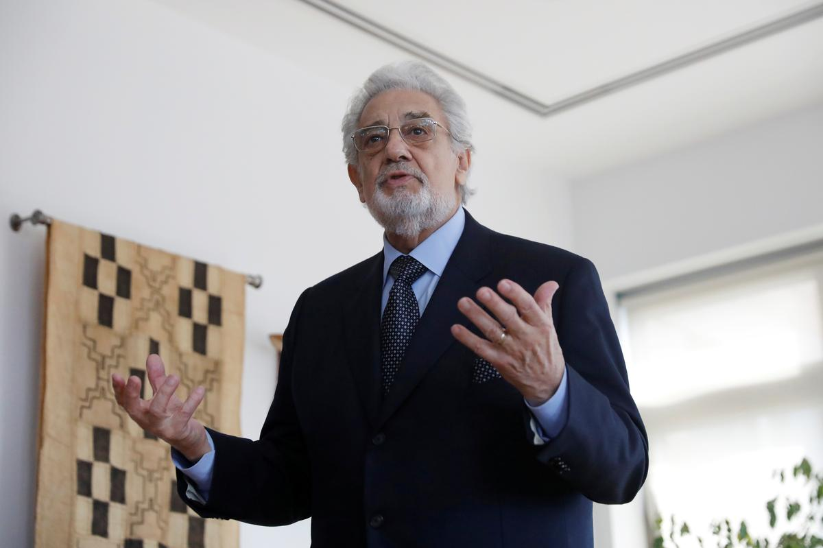Olympics: Placido Domingo pulls out of cultural event, cites 'complexity'