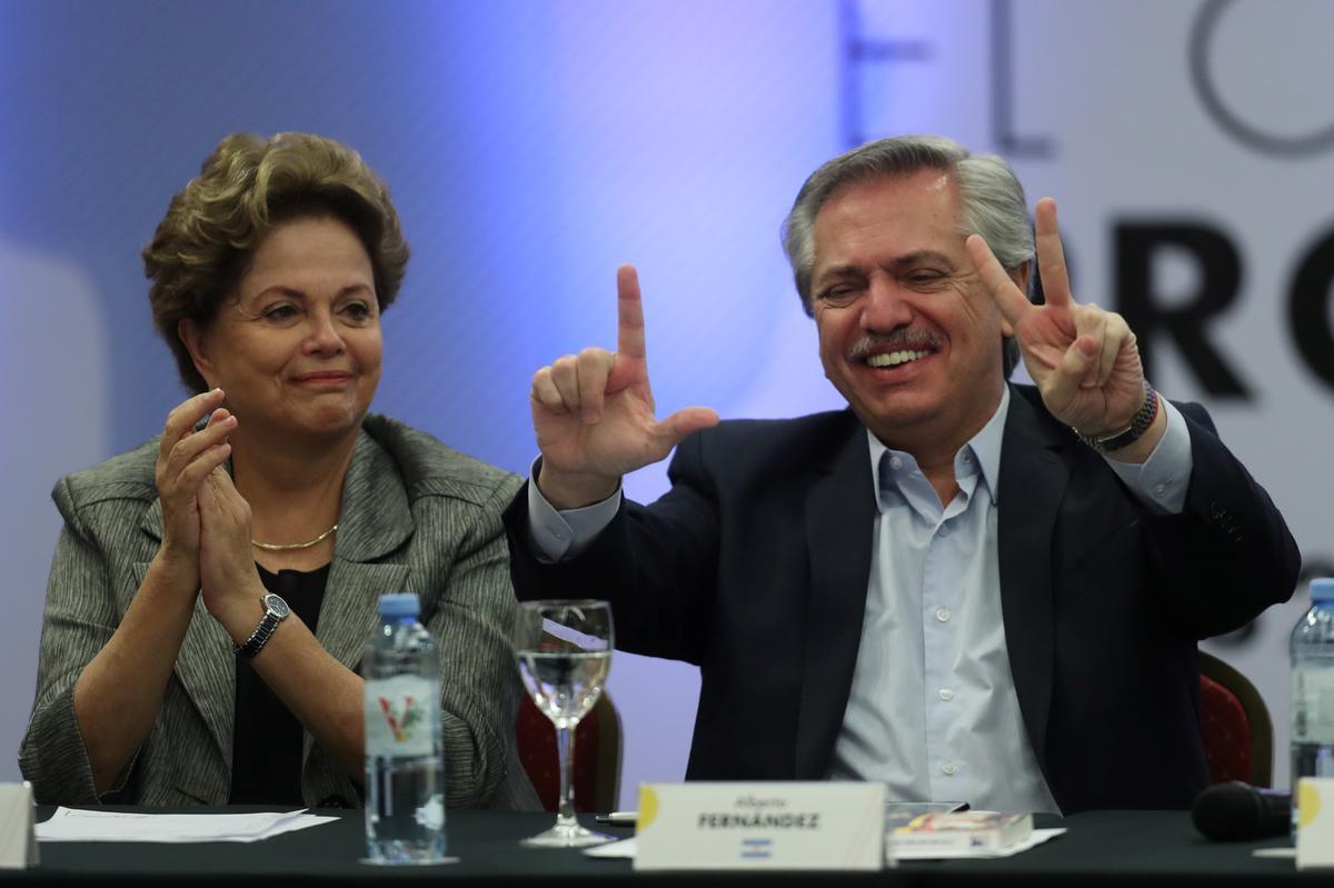 Argentina's Fernandez joins leftist leaders for 'Puebla Group' summit