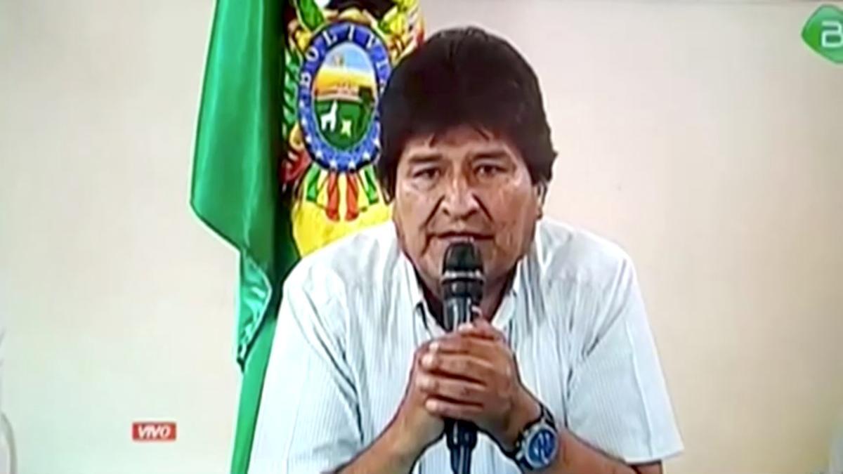 Bolivia's Morales denounces 'illegal' police warrant for his arrest: tweet