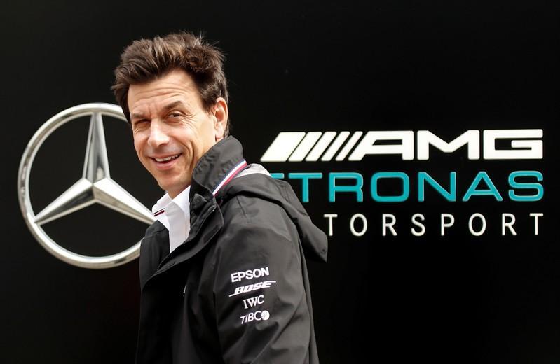 Mercedes boss Wolff to skip Brazil now both F1 titles won