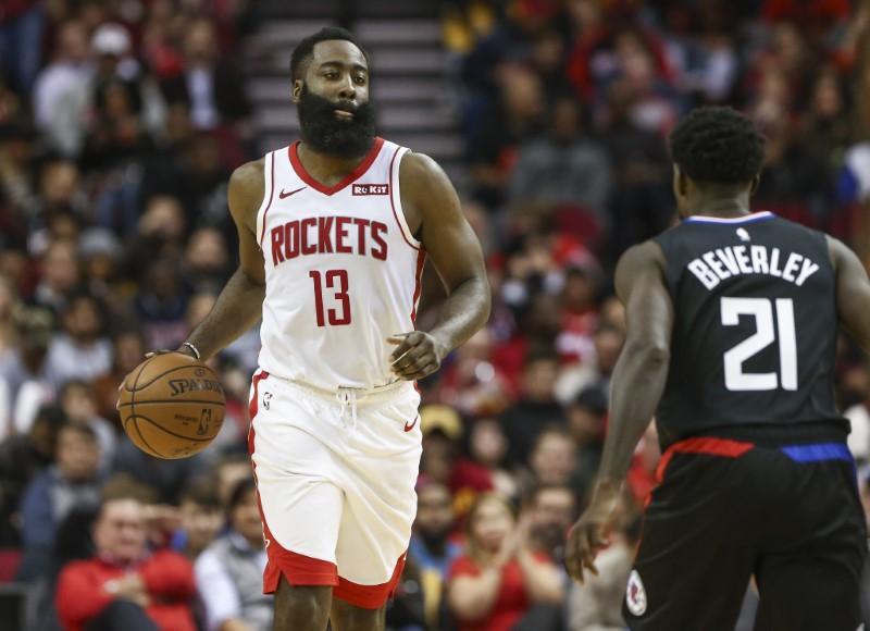 NBA roundup: Harden, Rockets outduel Leonard, Clippers