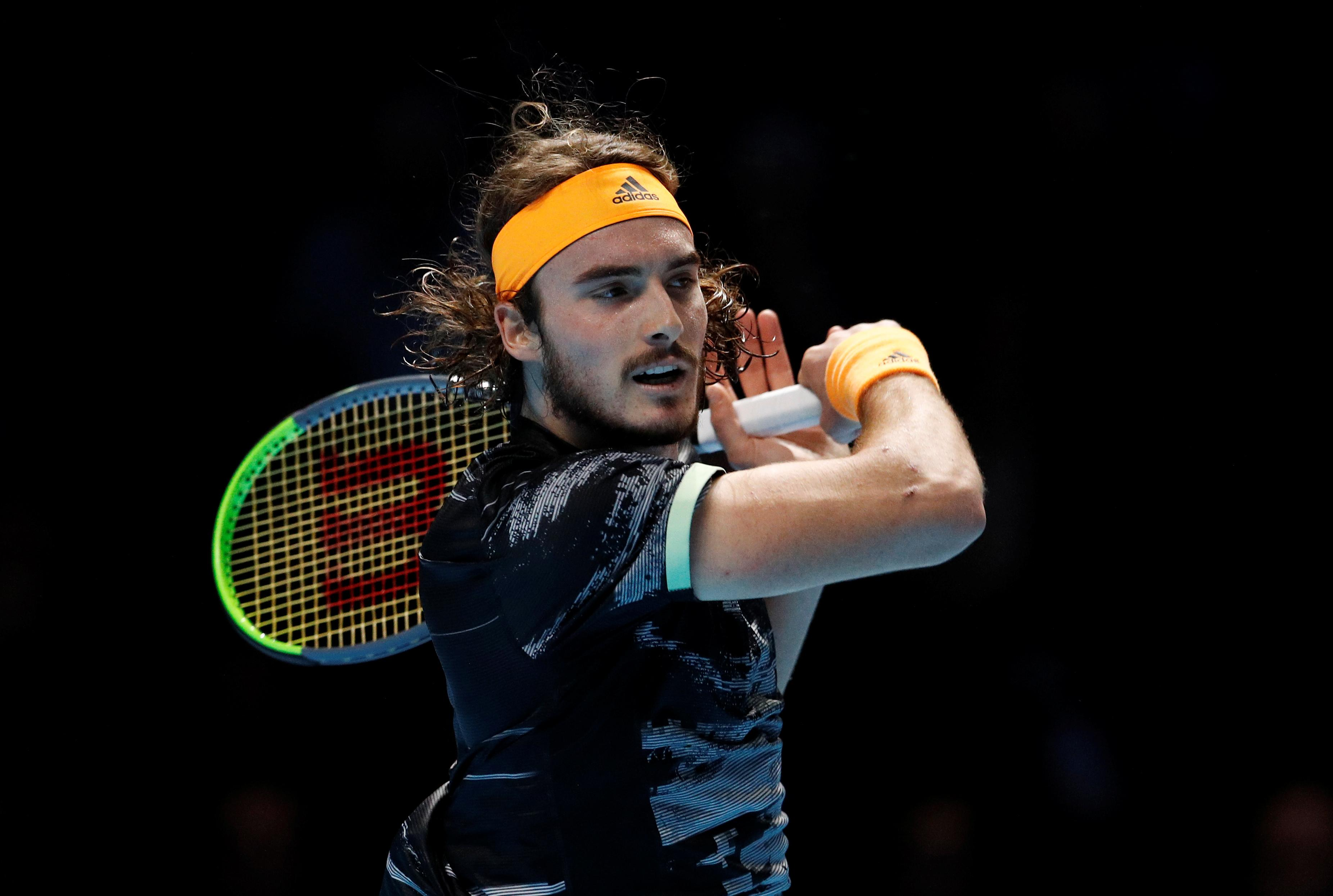 Tsitsipas eclipses Federer to set up Thiem showdown