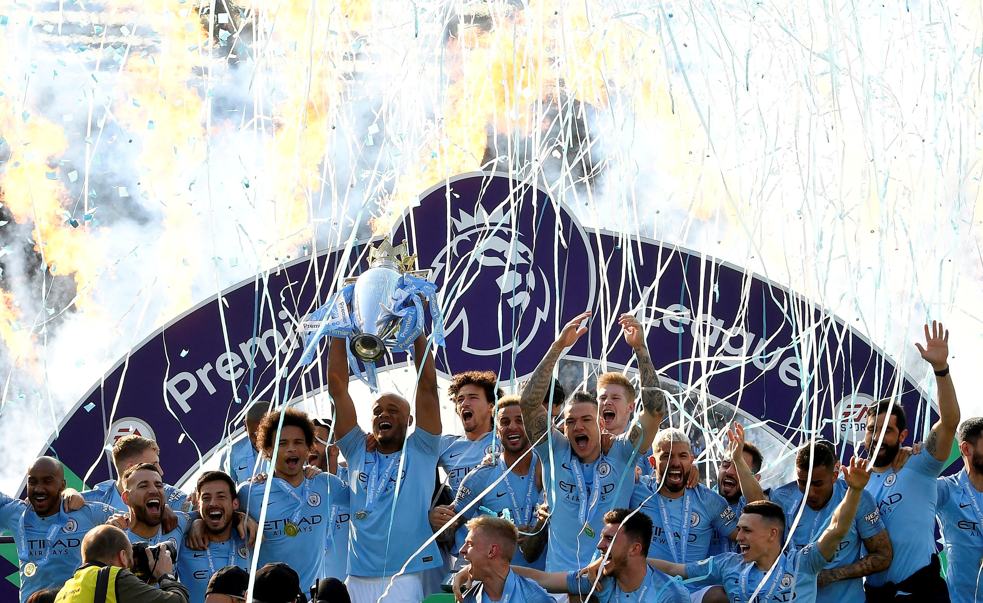 Man City report record revenue for 2018-19 after 'extraordinary'...