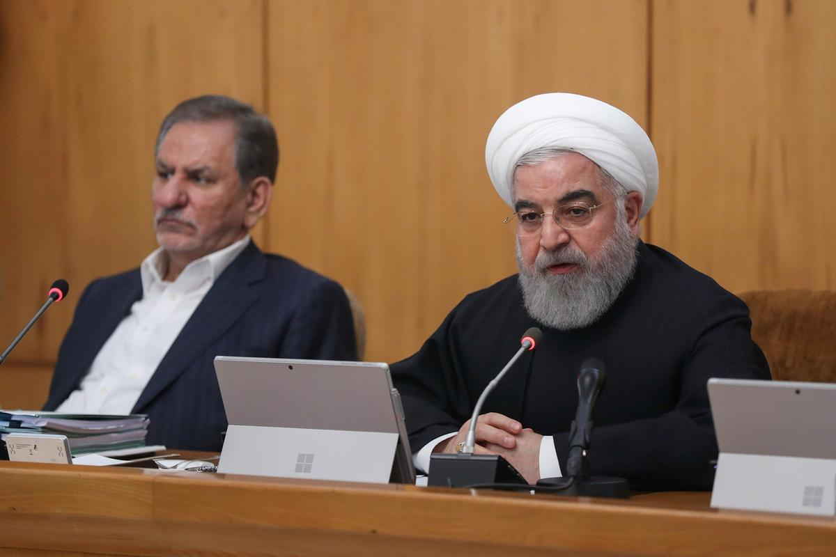 Iran's Rouhani claims victory over unrest