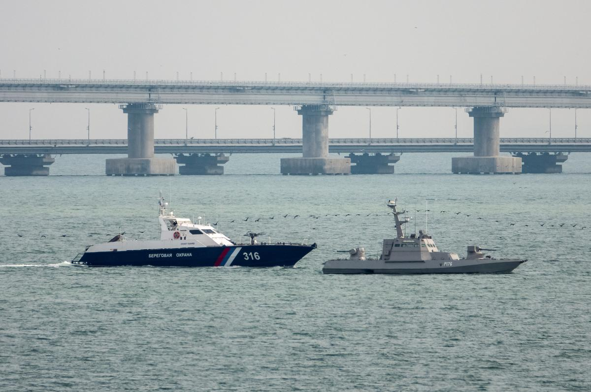 Ukraine says Russia returned ships in bad condition