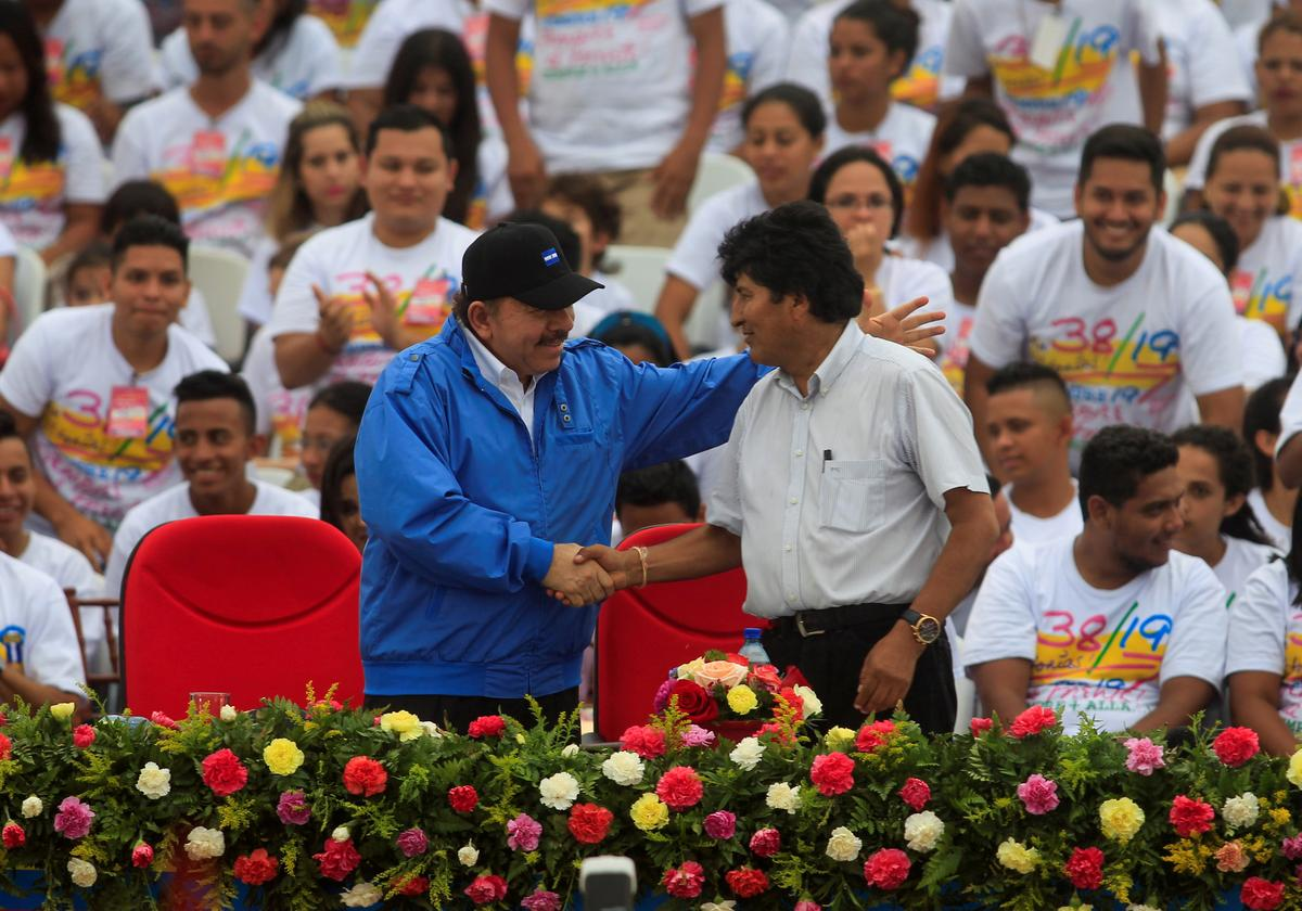 Bolivia's ouster of Morales stirs tensions in left-leaning Nicaragua