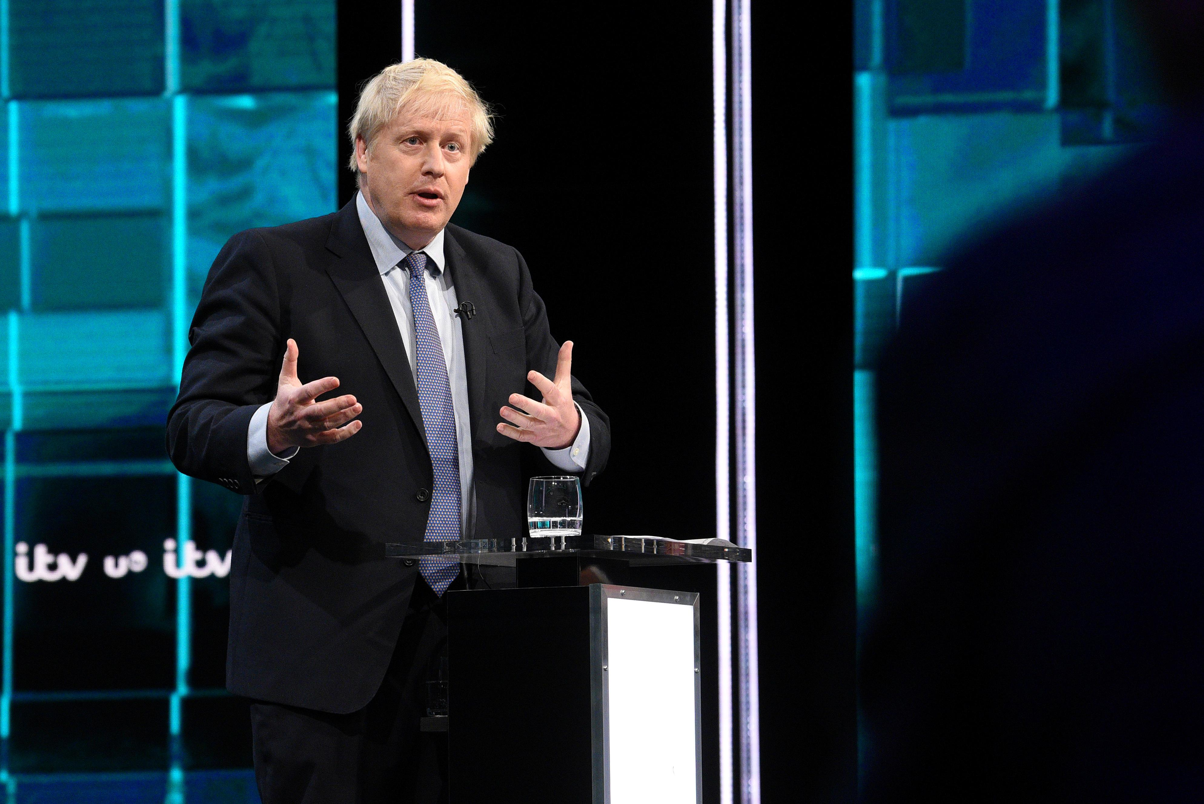 Johnson raises prospect of 10 billion pound payroll tax cut