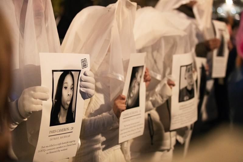 Transgender activists honor 22 slain victims in United States, 331...