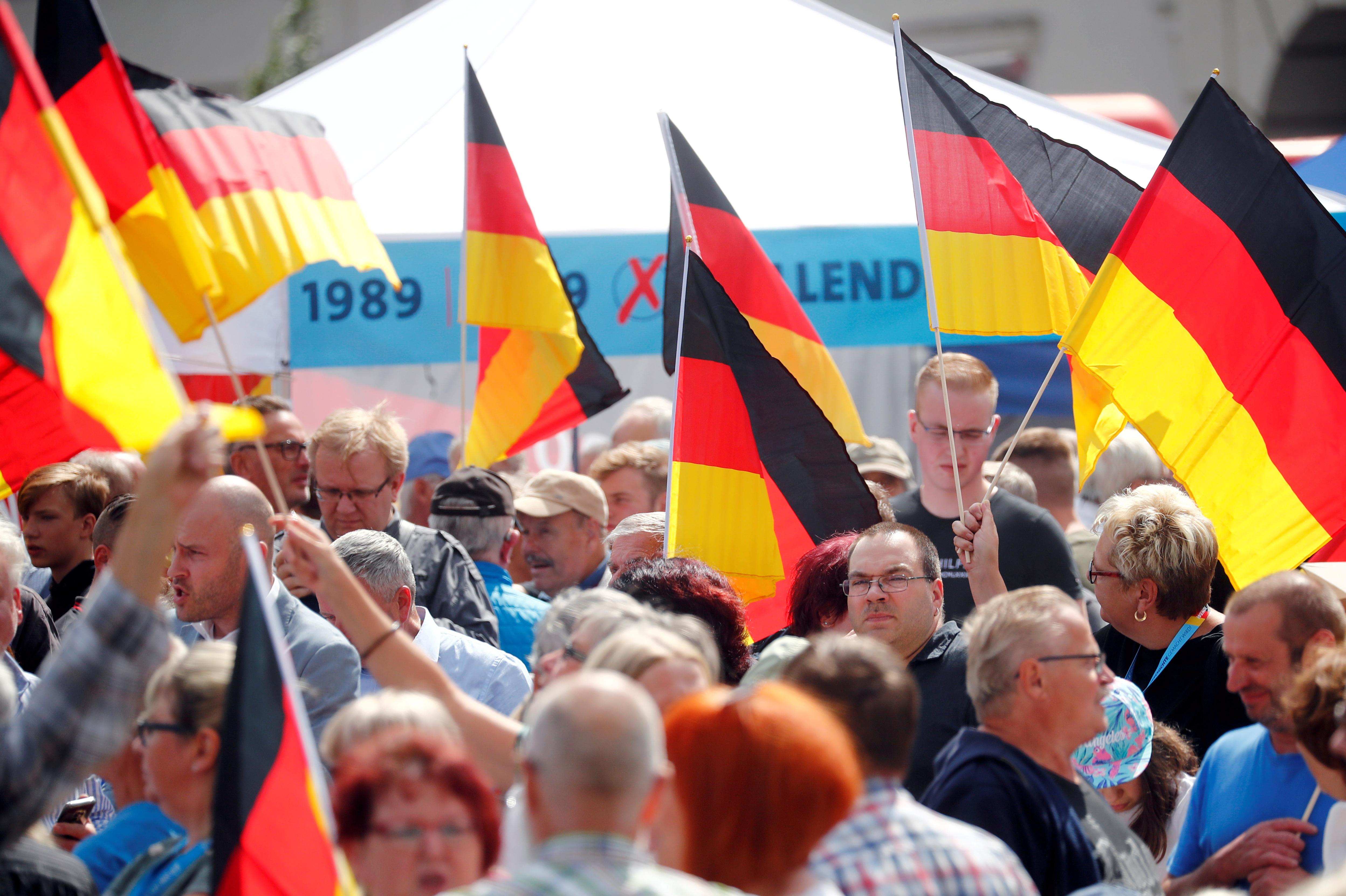 VW says arena must cover German carmaker's name during far-right event