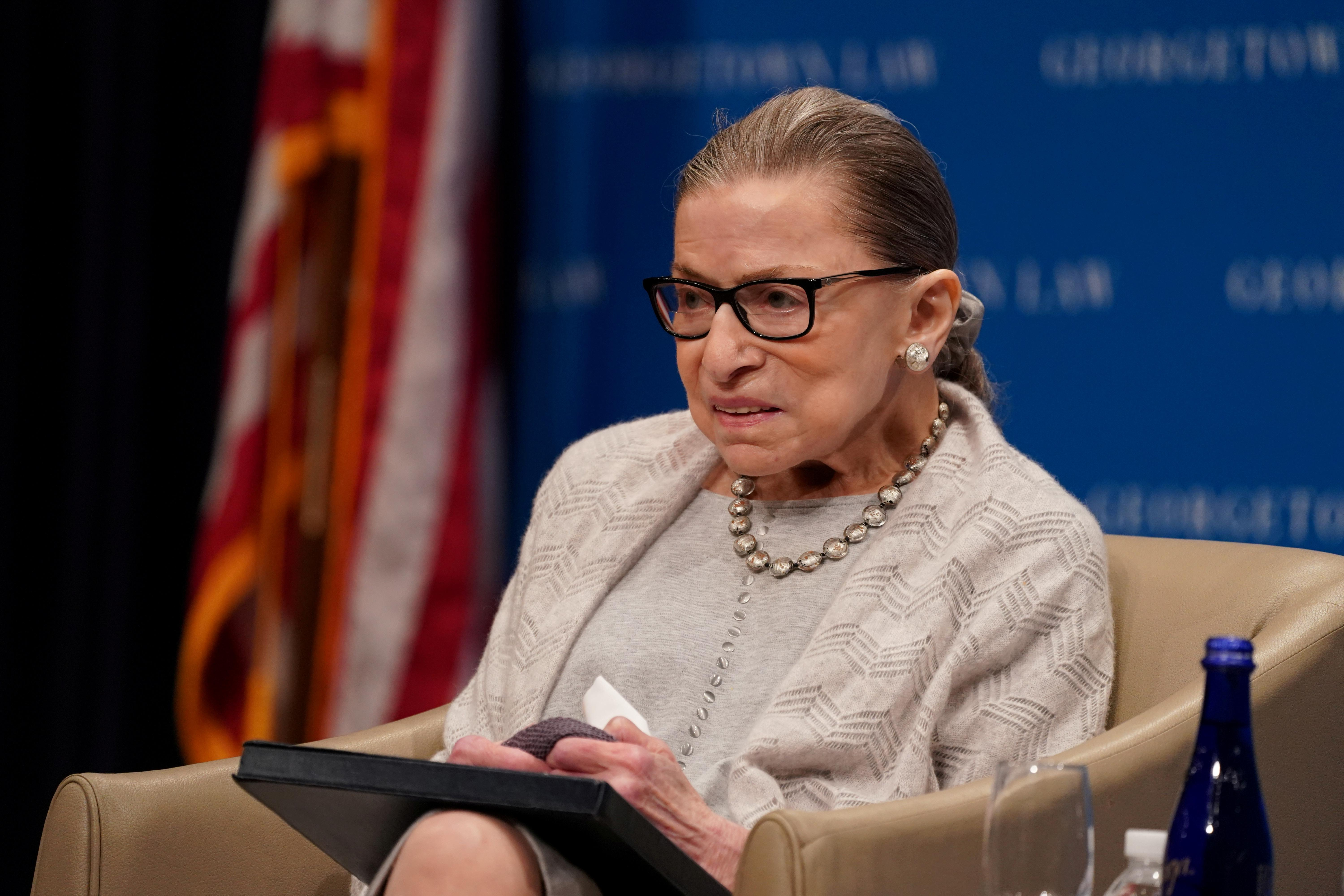 Justice Ginsburg in hospital, but expected to be released soon