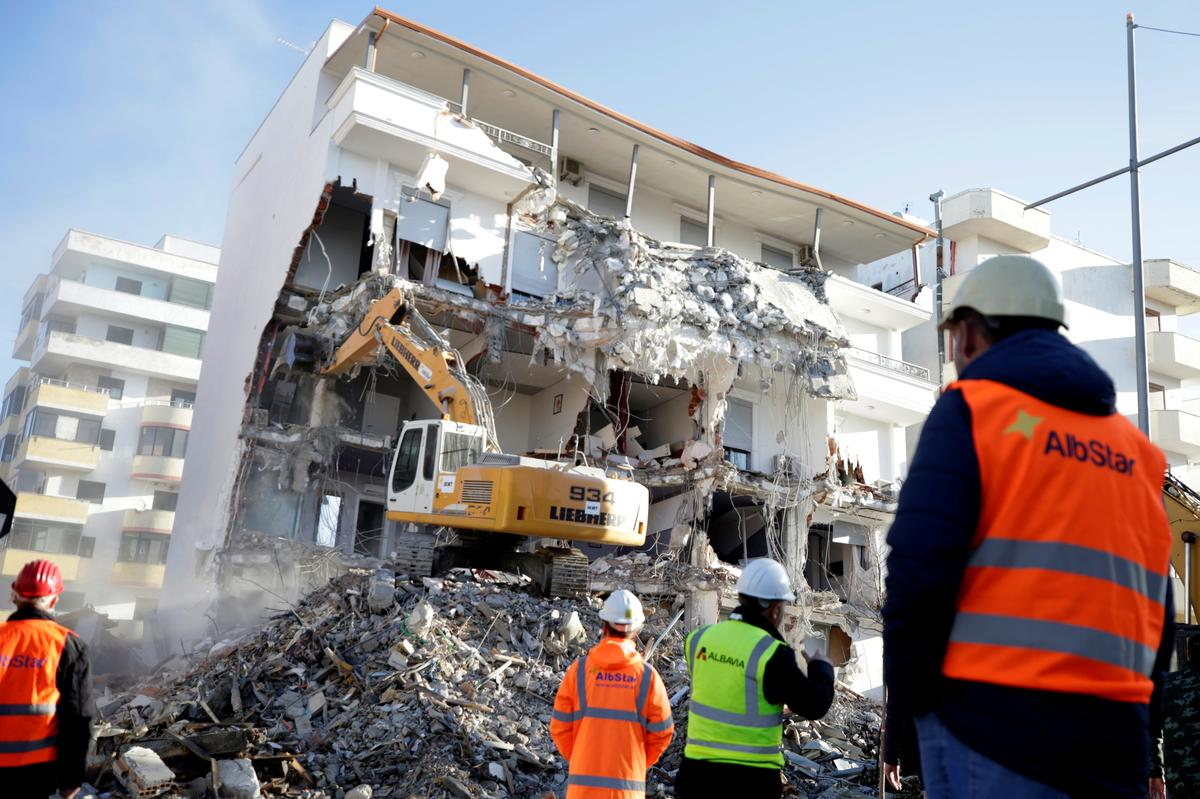 Albania says rebuilding after quake won't hit other spending priorities
