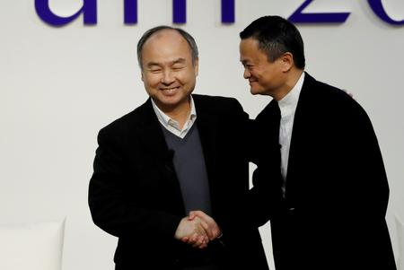 SoftBank's Son cleaves to guts-led investing in chat with Alibaba's Ma