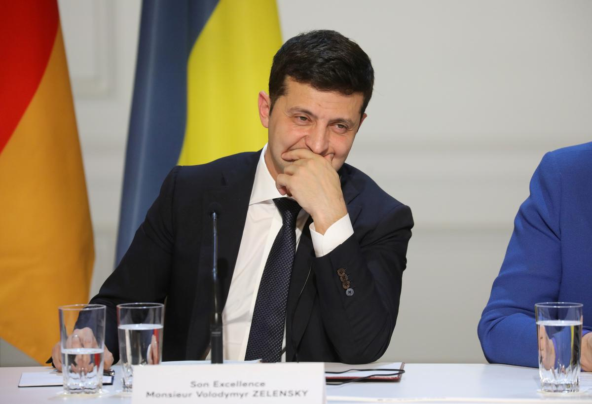 Ukraine's Zelenskiy says gas transit issue 'unblocked' after Putin meeting