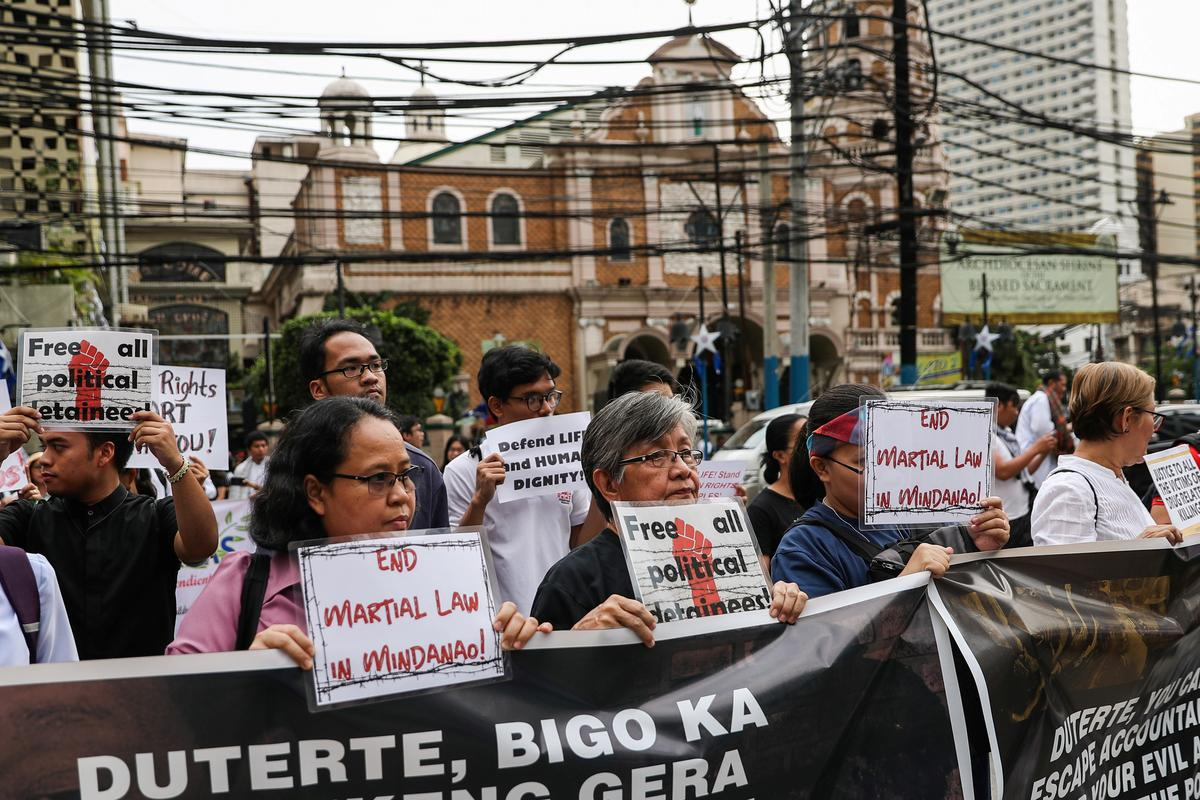 Philippines to end martial law in restive south