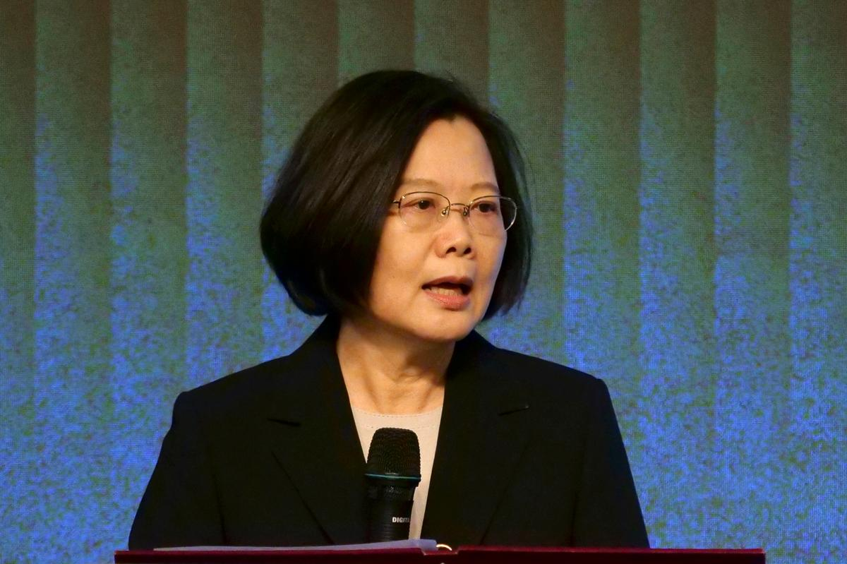 Taiwan president says not 'using' Hong Kong protests for election
