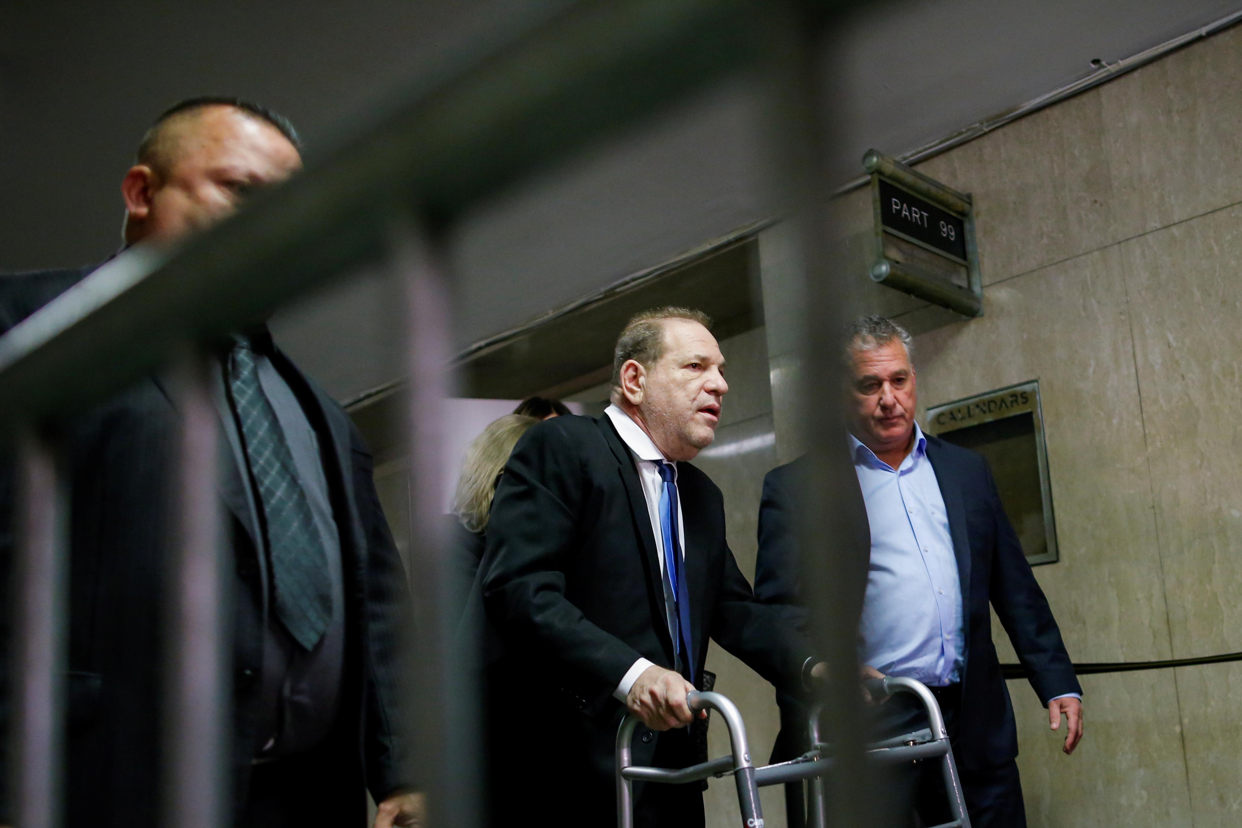 Harvey Weinstein reaches tentative $25 million settlement with...