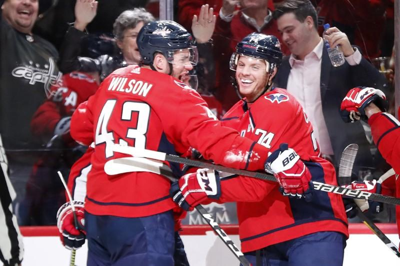 NHL roundup: Caps top Bruins, as usual