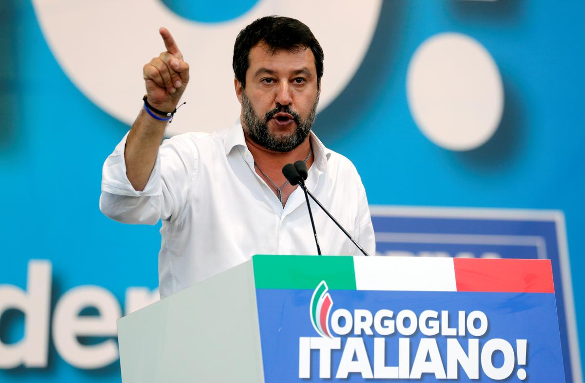 Italy's Salvini investigated over use of state flights