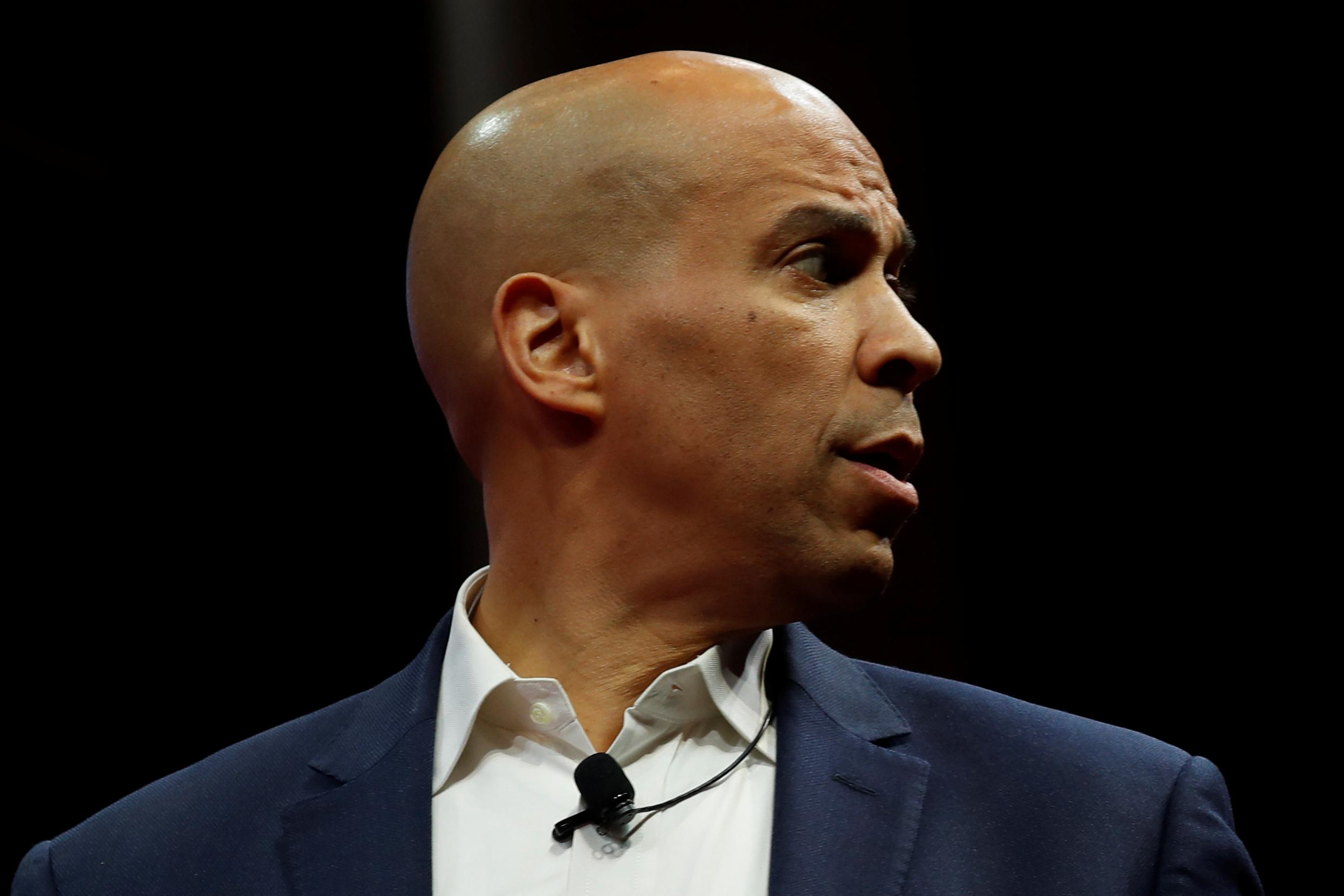 Democrat Booker doubling down in Iowa after failing to make debate