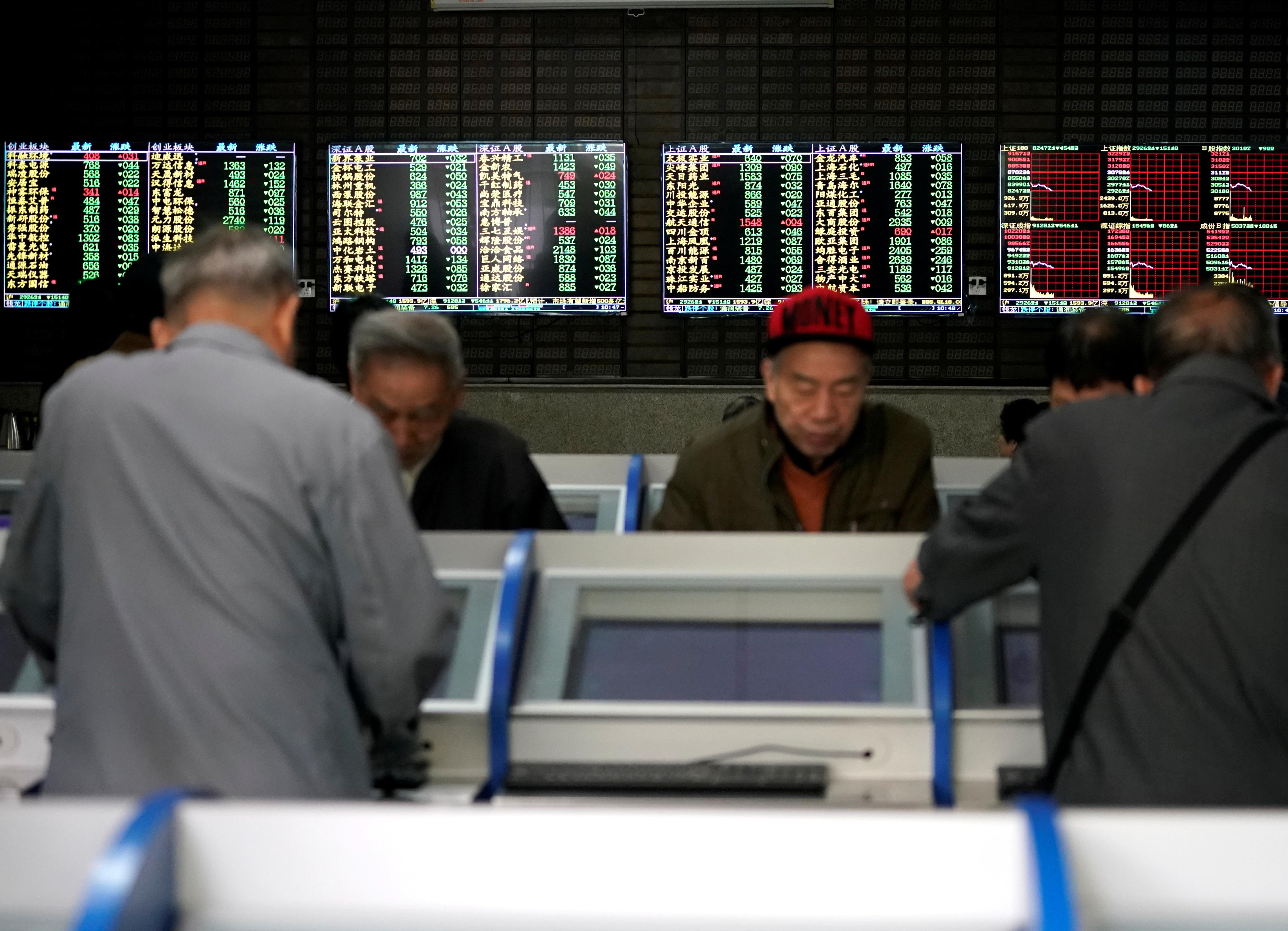 China's tech stocks valuations soar as foreign investors pile in
