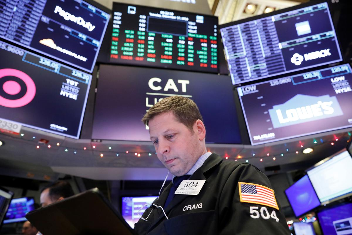 Futures hit fresh record highs on positive signs in trade saga