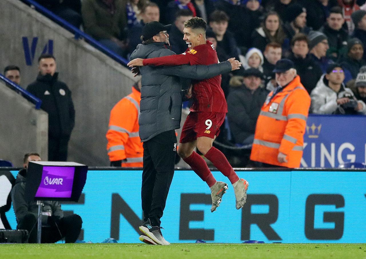 Image result for leicester city v liverpool