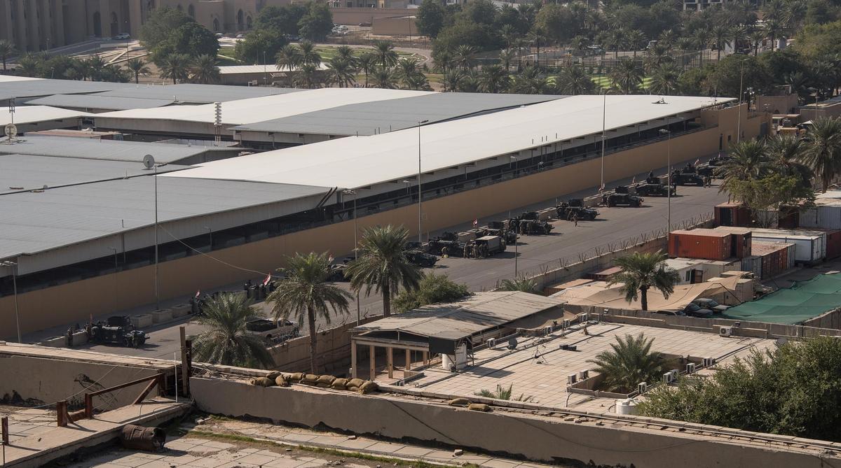 U.S. embassy suspends consular operations