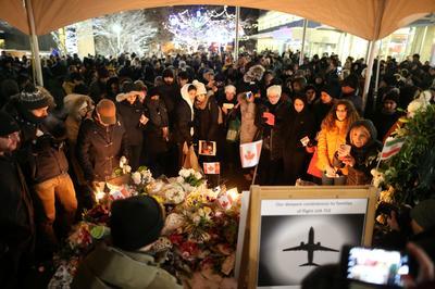 Ukrainian airliner crash victims mourned
