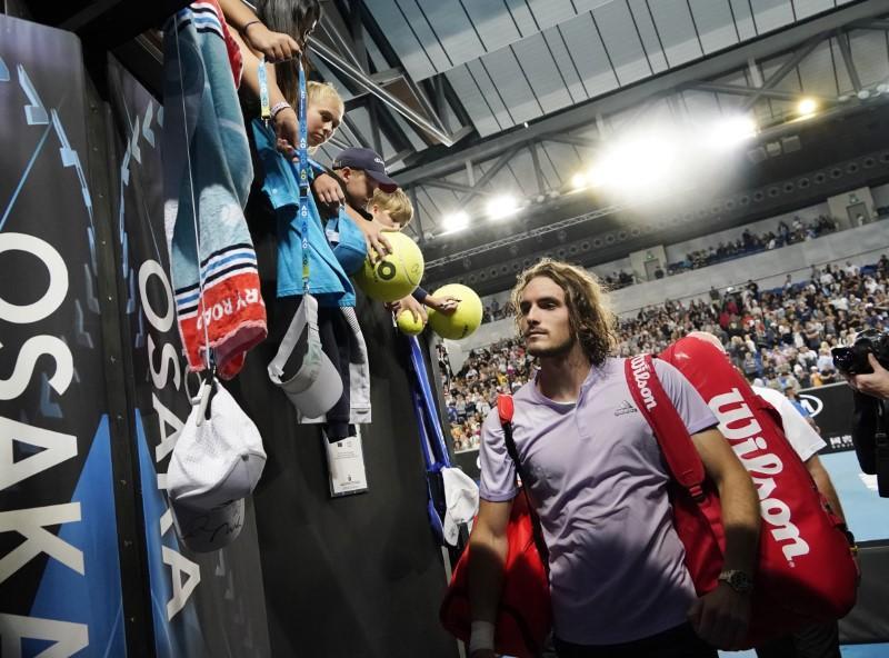 Tennis: Tsitsipas calls for 'a little more respect' after rowdy...