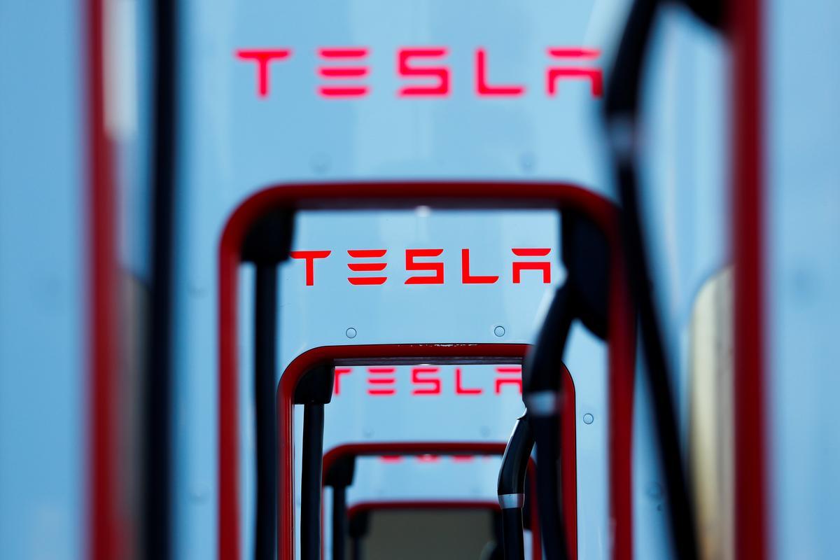 Tesla crosses $100 billion stock market valuation in extended trading