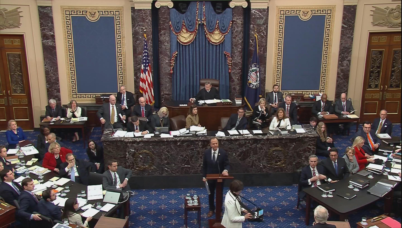Democrats accuse Trump at impeachment trial of corrupt scheme to...