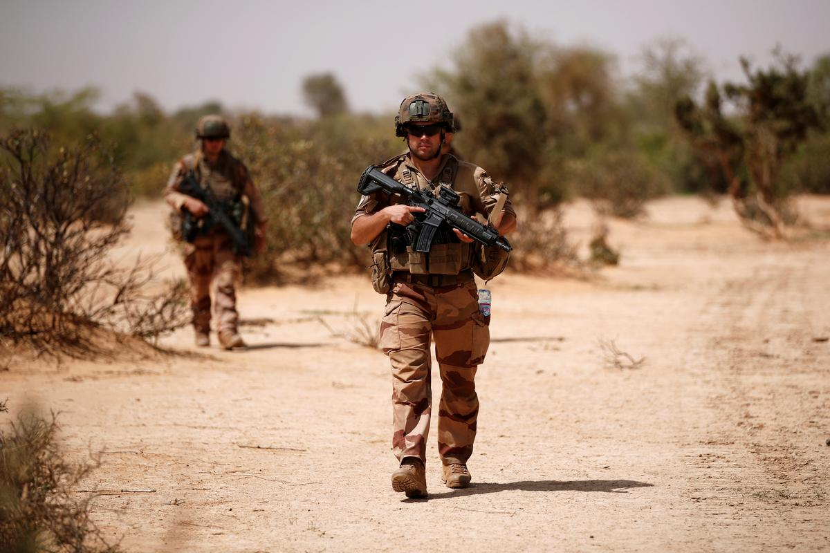 France warns U.S. against pulling troops from fight against Islamists in Africa's Sahel