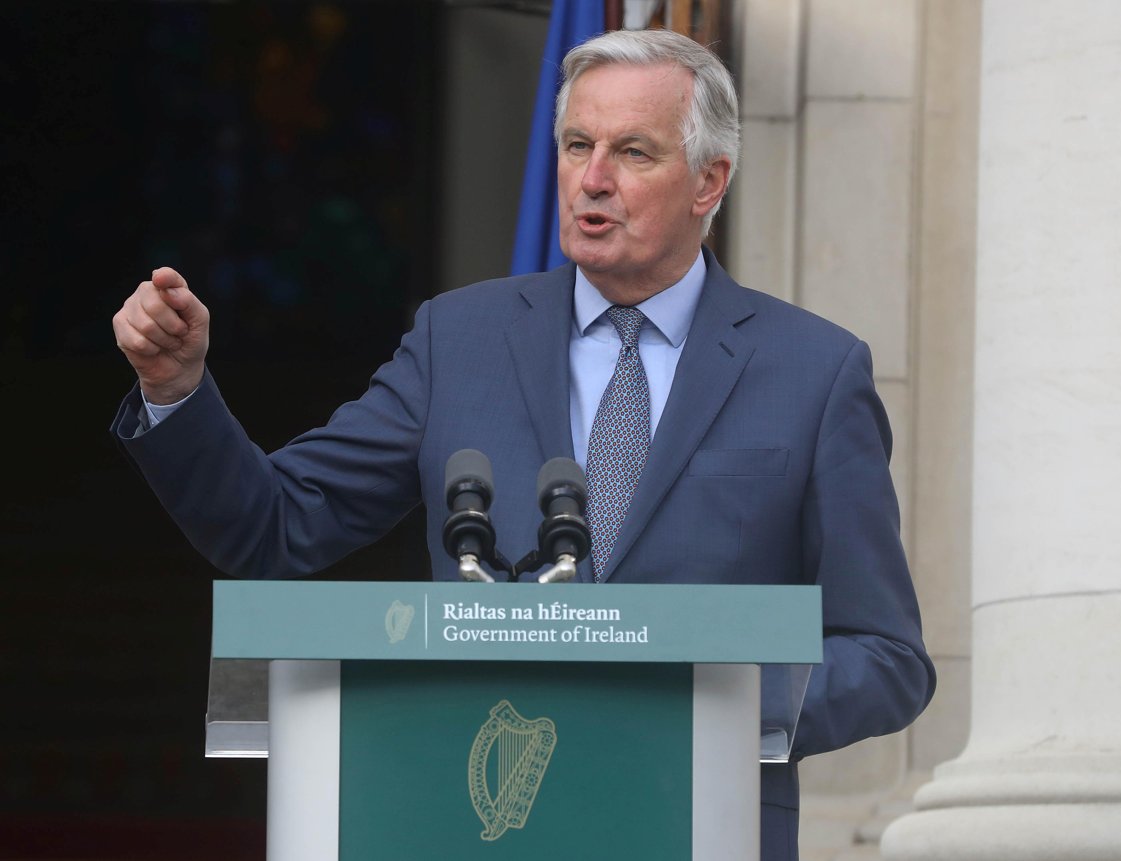 Brexit withdrawal deal must be implemented 'with rigor': EU's Barnier
