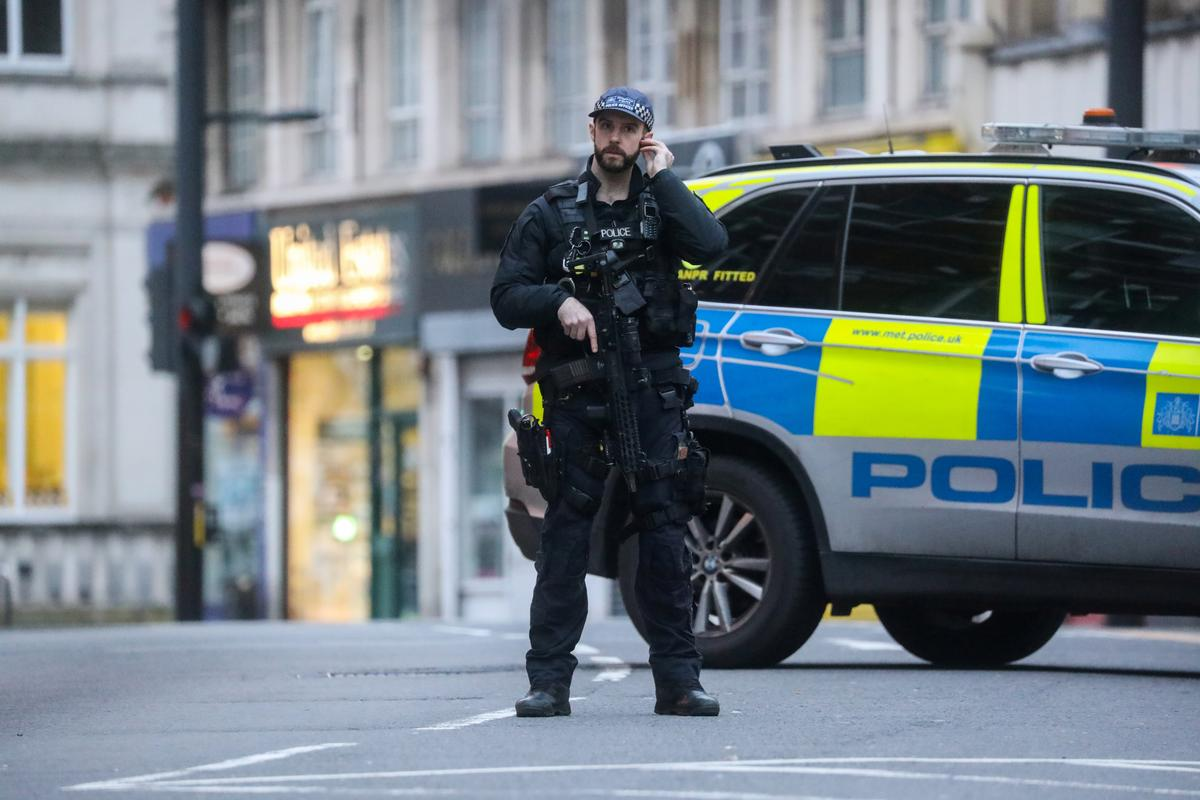 Police shoot man dead in London after stabbing described as terrorism
