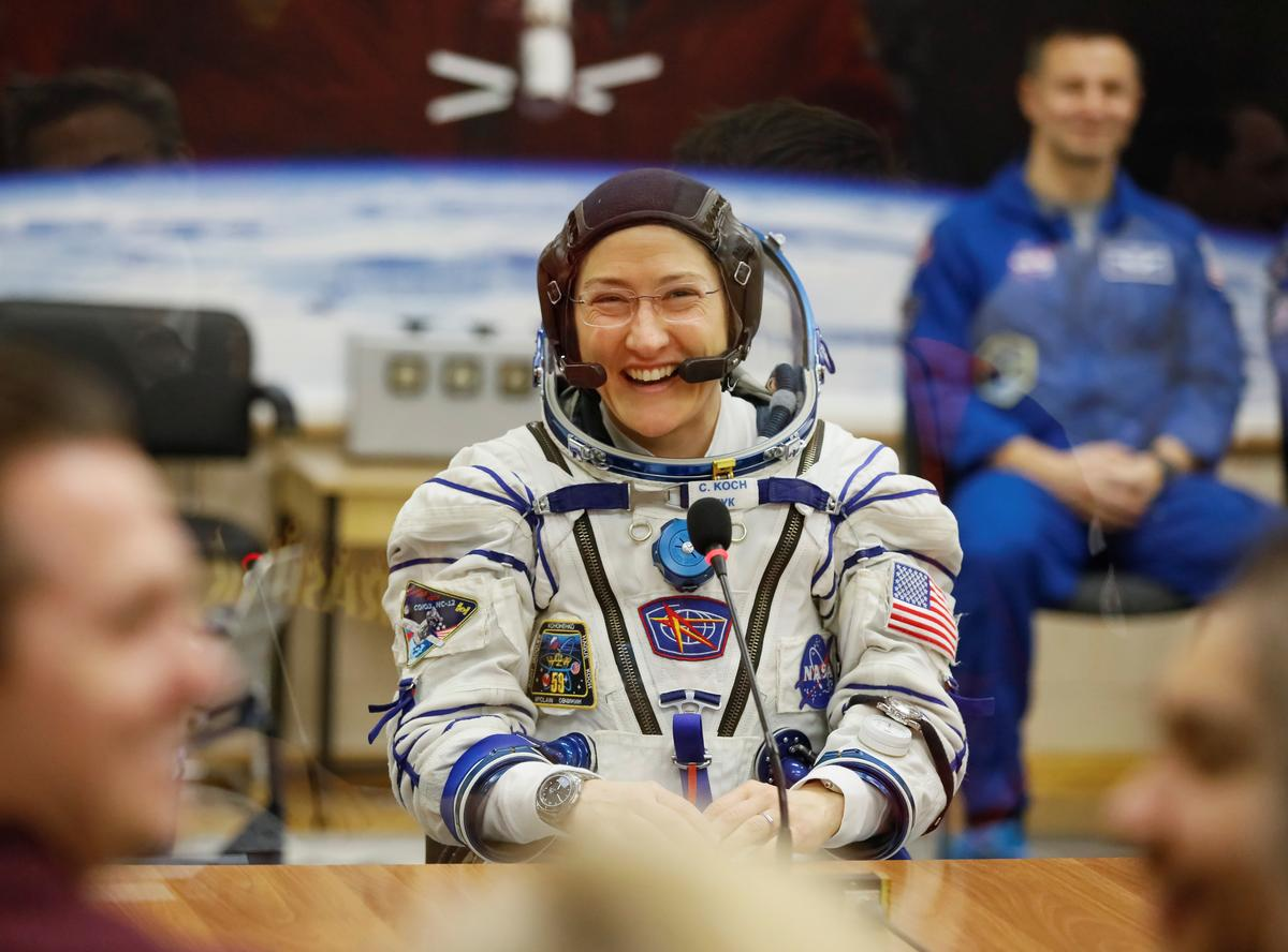 NASA astronaut Christina Koch returning to Earth after record space station mission