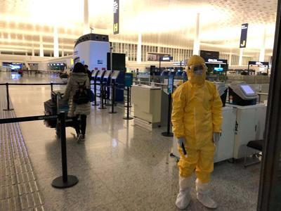 Evacuee's flight out of coronavirus-hit Wuhan