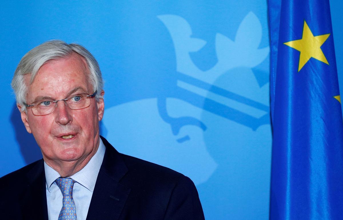 'Be under no illusion' on financial services, Barnier tells Britain