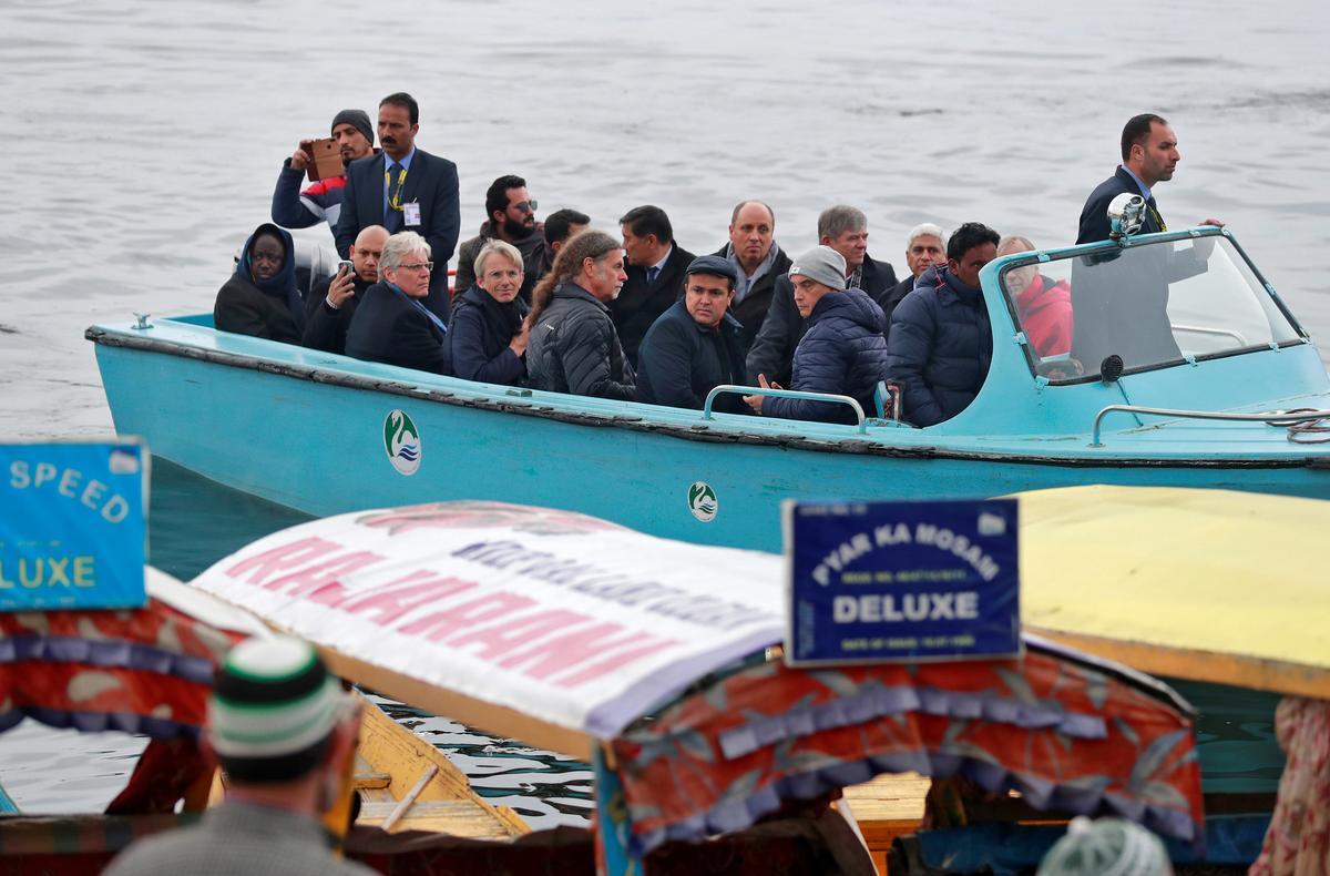 European diplomats check India's loosening of Kashmir clampdown