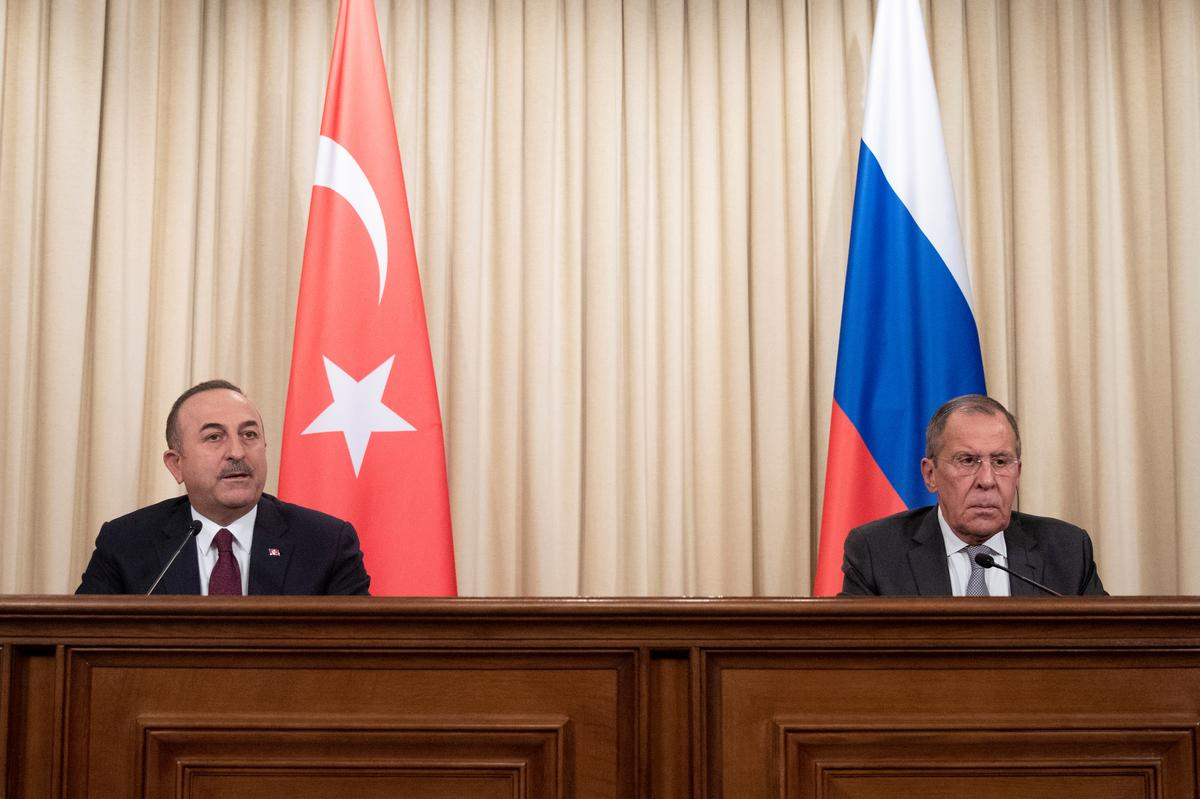 Russian, Turkish foreign ministers to meet on Sunday amid Syria tensions: Ifax