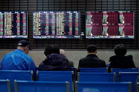 Asian shares ease off three-week highs as virus fears return