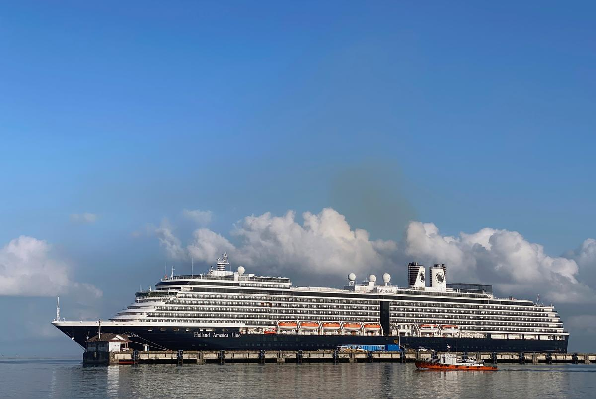 Scramble to track Cambodia cruise ship passengers after coronavirus case reported