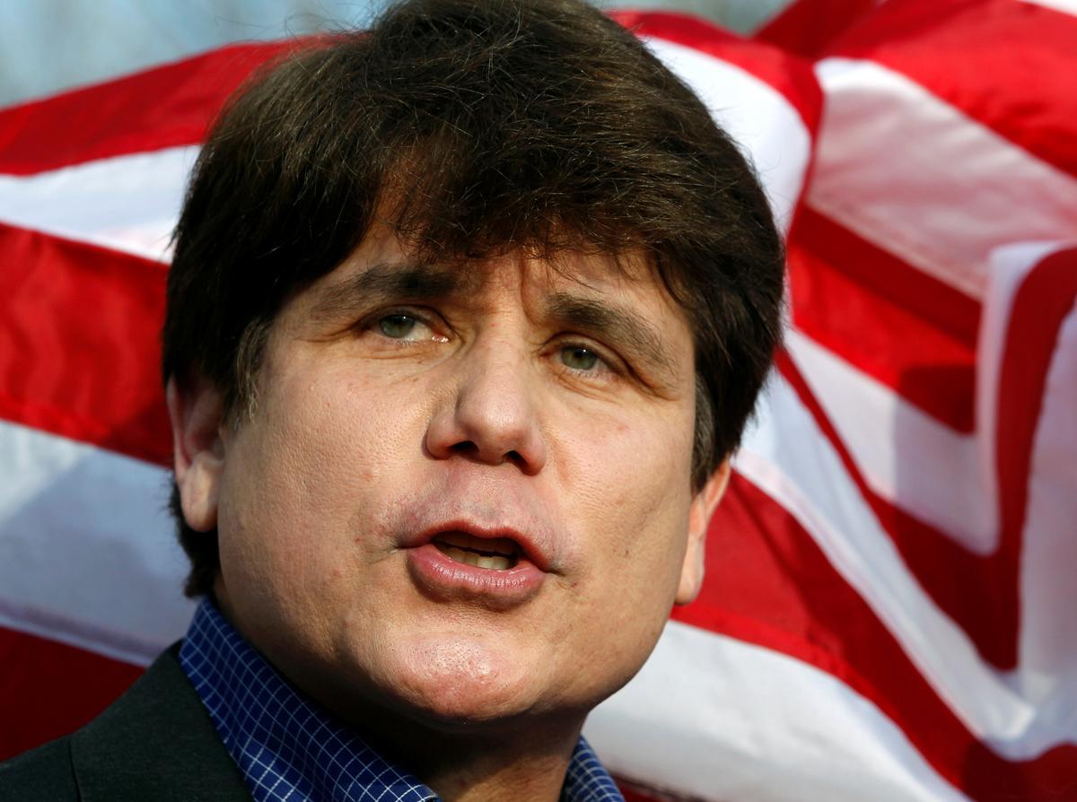 Trump commutes Blagojevich sentence, pardons junk bond king Milken