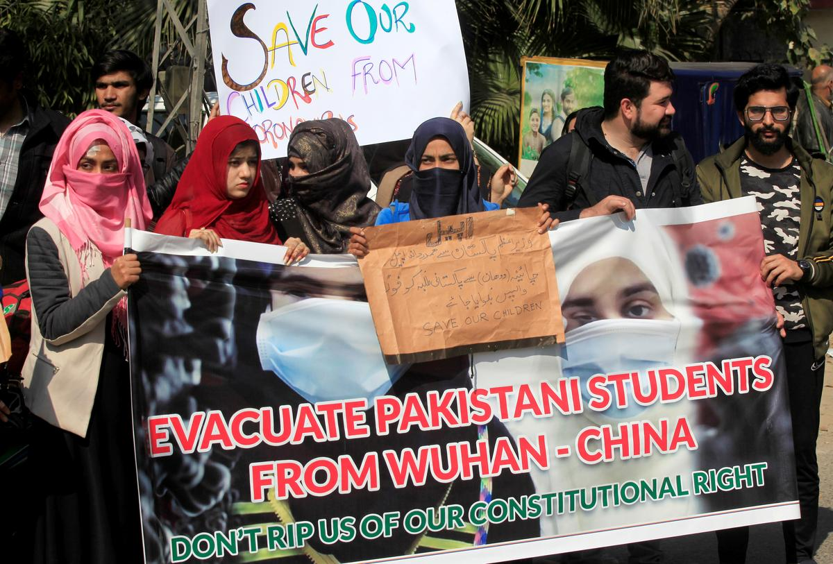 China backs Pakistan decision not to evacuate students from coronavirus lockdown