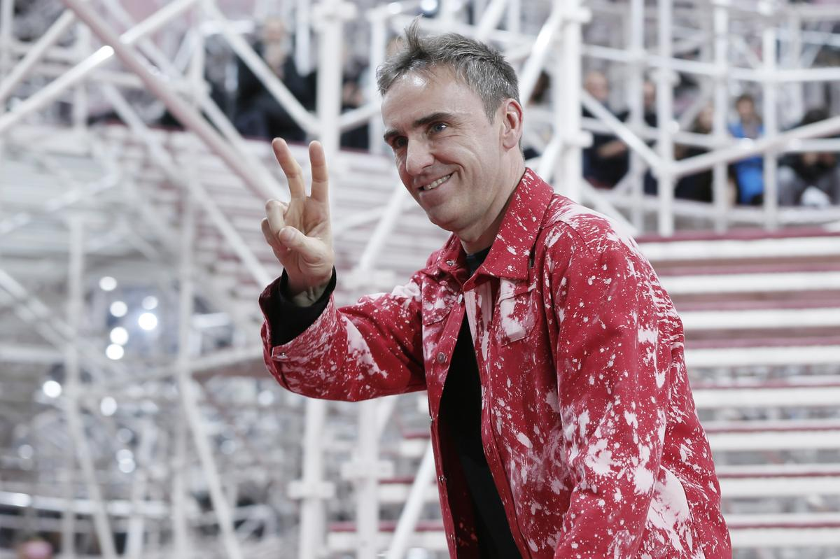 Belgian designer Raf Simons joins Prada as co-creative director