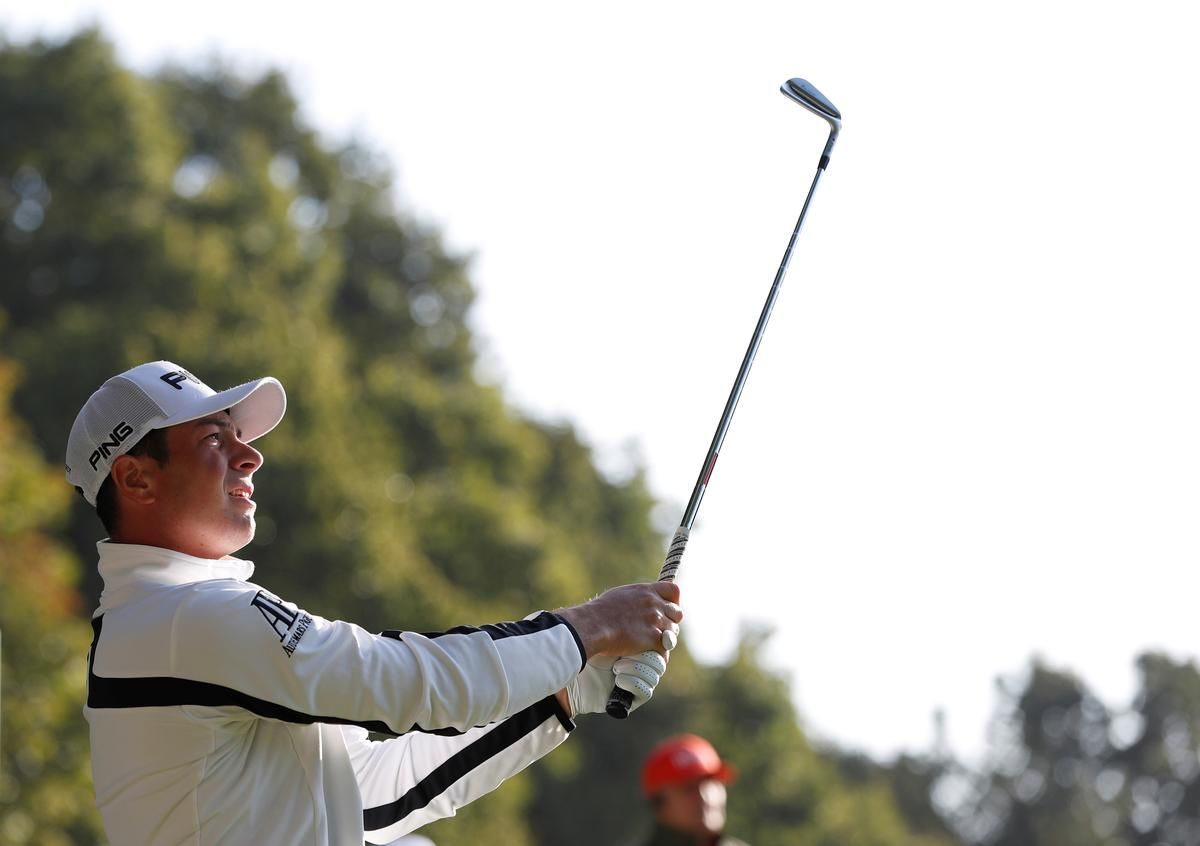 Norway's Hovland sinks long putt for first PGA Tour victory