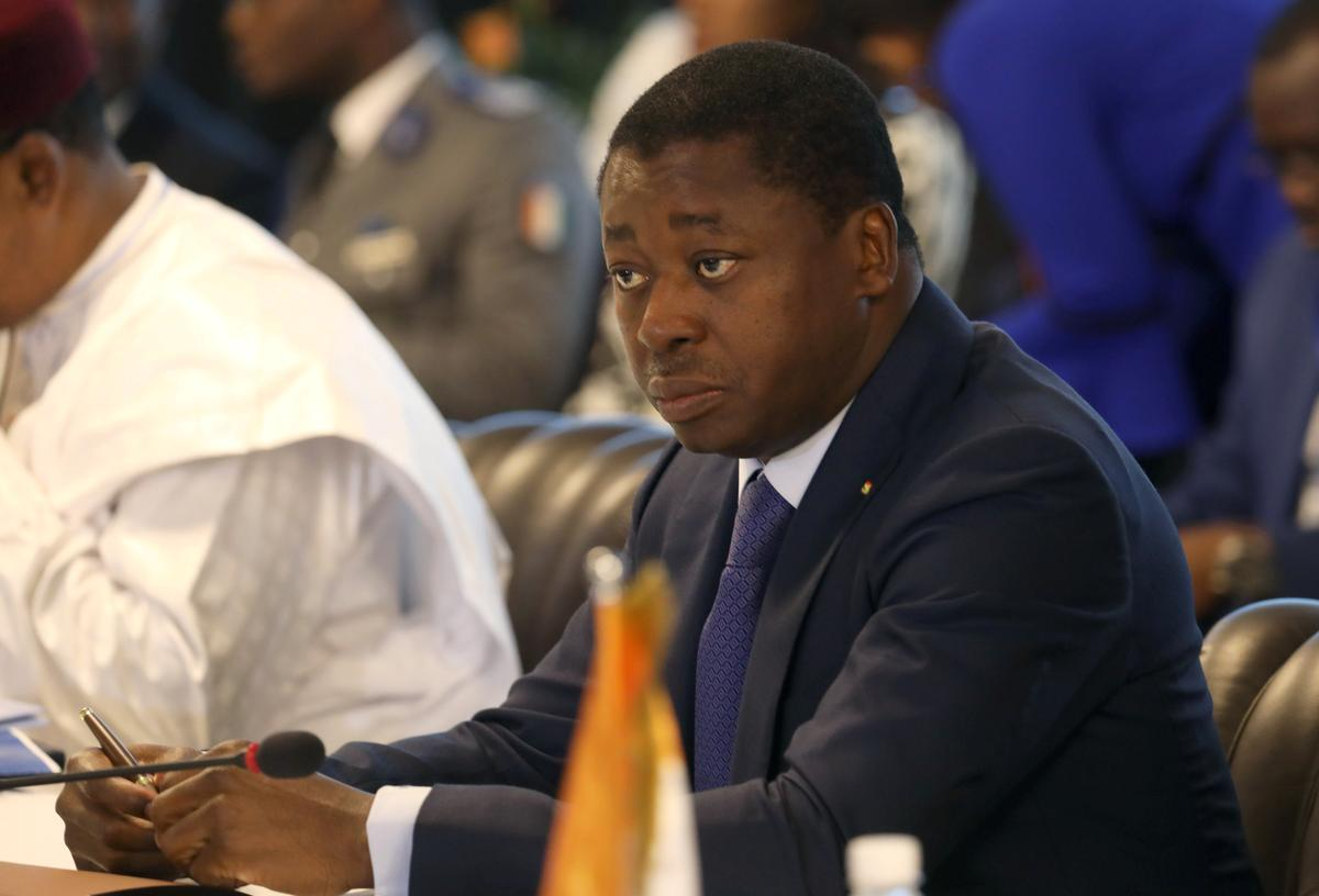 Togo president declares landslide election win, opponent slams 'masquerade'