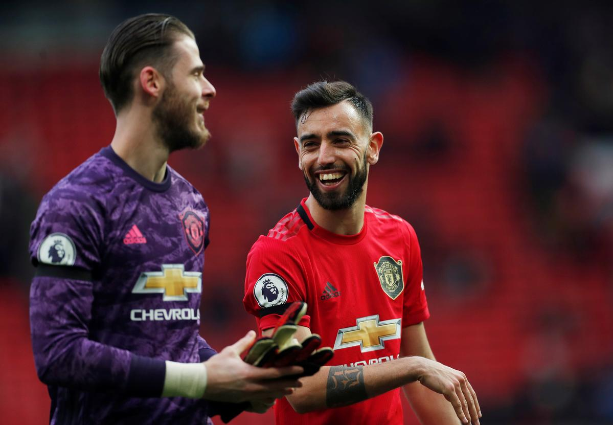 Fernandes can play same role as Scholes, Veron - Solskjaer