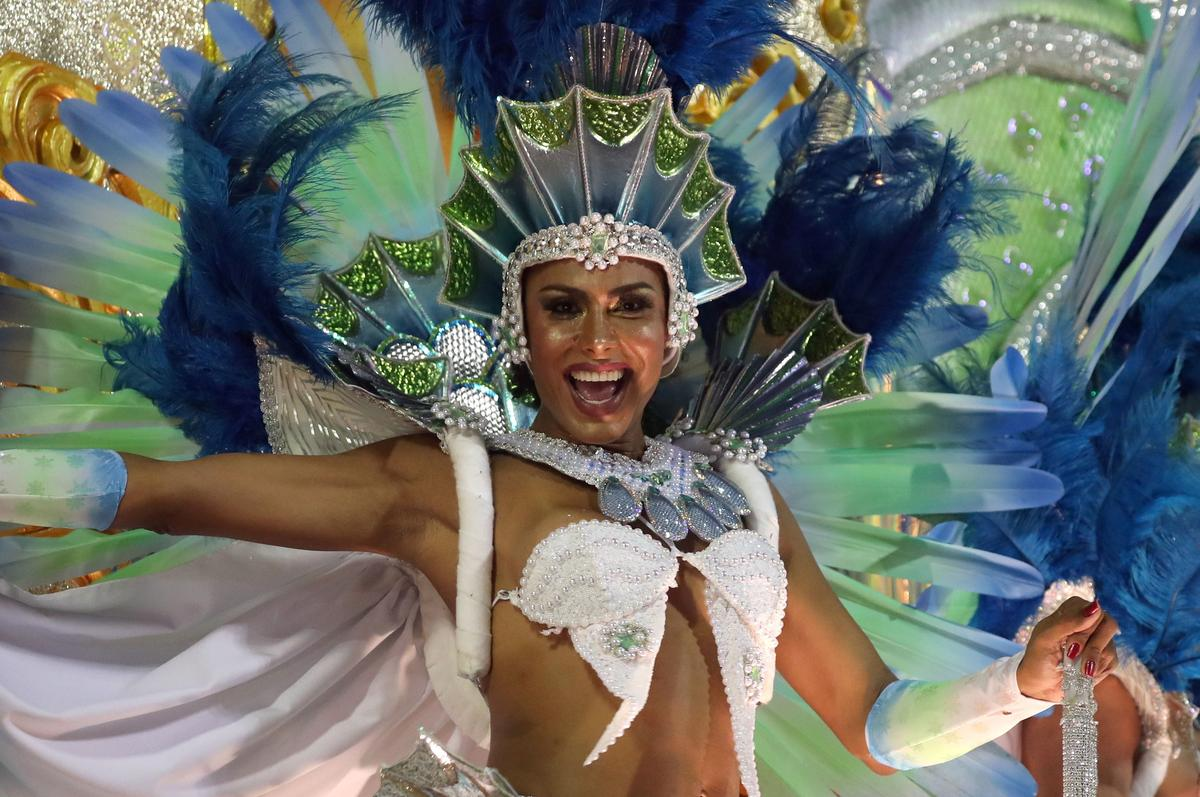 Brazil's Bolsonaro gets the Rio samba parade treatment